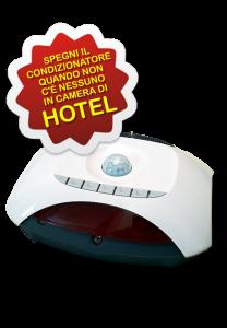 AerVirdis - Praesentia: sensore di presenza per spegnere i condizionatori quando non c'è nessuno in camera